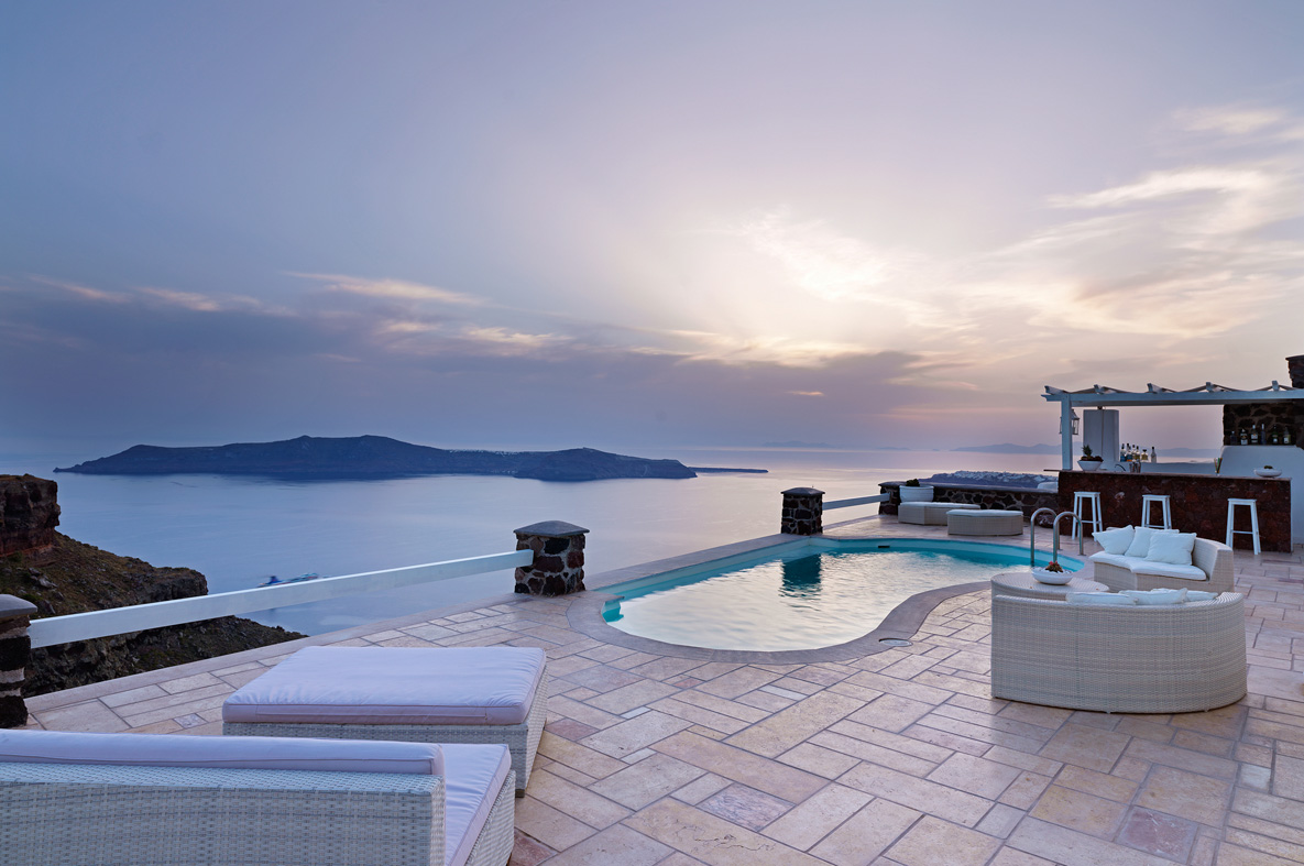 Tholos Resort - Photo Gallery. Swimming Pool View from the balcony Swimming  pool area ...
